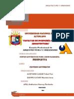Propuesta Centro HistorticoJR. CAJAMARCA-PUNO