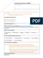 davis beyond the basic prductivity tools lesson idea template