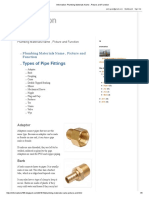Information_ Plumbing Materials Name , Picture and Function