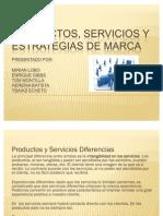 Productos, Servicios y Estrategias de Marca