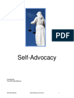 Self-Advocacy curriculum