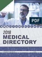 2018 Pitt County Medical Directory
