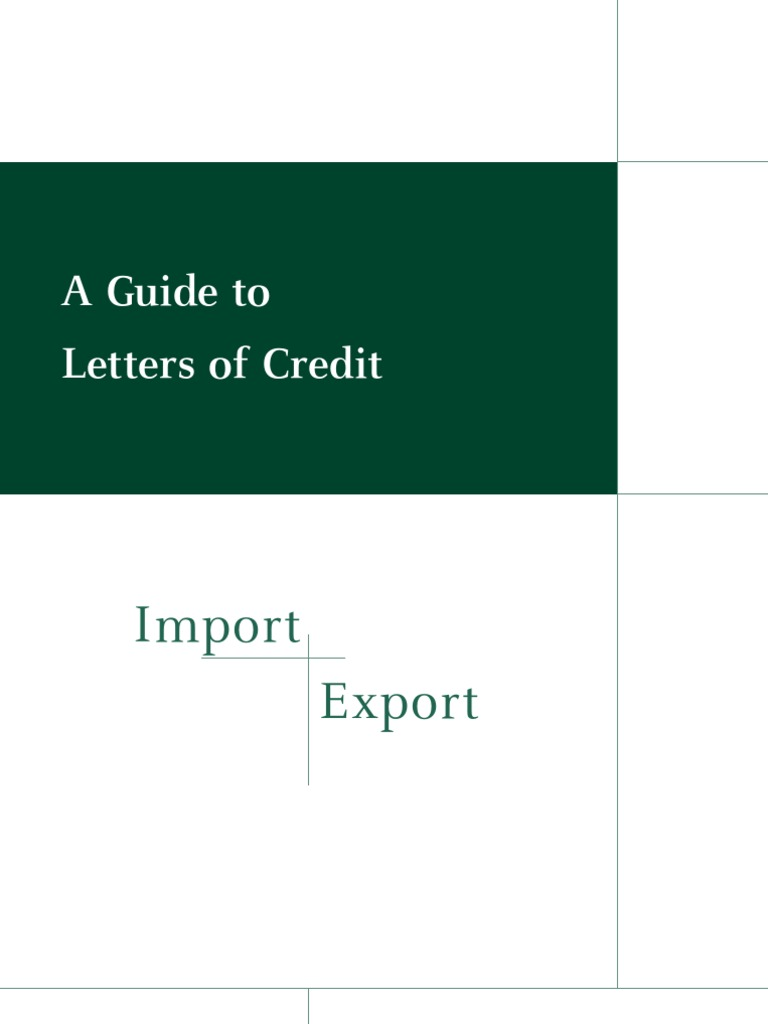 Letter Of Credit Guide Letter Of Credit Industries