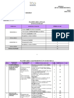 Planificare dirigentie Litera, clasa a V-a