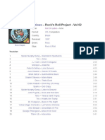 Various - Rock'n Roll Project - Vol 02 (CD)