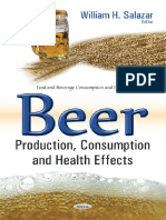 Beer - Production, Consumption and Health Effects