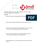 Small Group Question 10.14.18