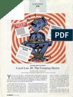 New York City Local Law 48 (H.P. Lovecraft pastiche)