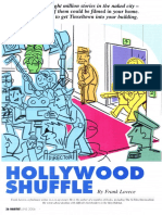 """Hollywood Shuffle"" (on film shoots in your co-op/condo)"
