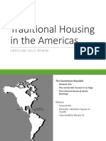 Traditional Housing in the Americas