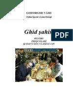 Carte Sah Gheorghevasii