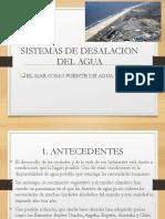 Desalinizacion Del Agua