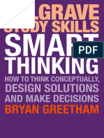 Smart Thinking_ How to Think Conceptually, - Bryan Greetham