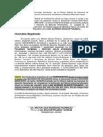 Solicitud de Certificacion de No Apelacion Instruccion Oficina Permanente Luis Alfredo Astacio