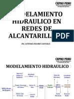 Modelamiento hidráulico en redes de alcantarillado.