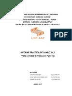Informe Practica Campo No. 1