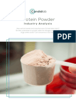 Candidlab - Protein Powder industry report