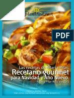 Recetario Gourmet Para Navidad y Año Nuevo - Mª Pilar Ruiz