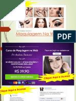 Curso de Maquiagem Profissional Em Goiania