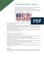 Como Iniciar Sua Vida Na América - Manual Mudança Para Os EUA