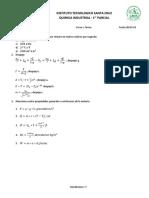 1. Parcial de Quimica - 19-03-18