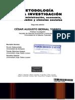 Metdologia de La Investigacion