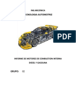 Informe de Motores de Combustion Interna