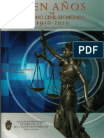 Cien Años de Derecho Civil en México 1910-2010_unam
