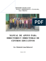 Manual Del Director Version Final 2016
