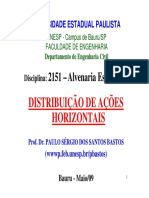 Alv. Estrutural - Distr. Horiz