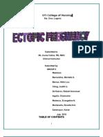 Ectopic pregnancy