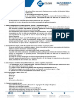 Exercicios de Direito Processual Civil - Aula 01