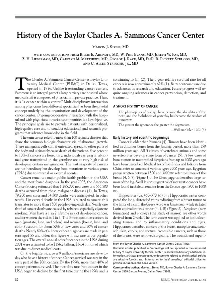 16_1_stone pdf | Oncogene | Cancer