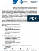 Exercicios de Lingua Portuguesa - Aula 01