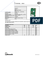 Technical Data Sheet RF Module TX64120 -CN-2 Rev02