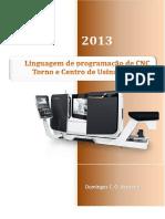 Linguagem de programação de CNC - Torno e Centro de Usinagem - 2013.pdf