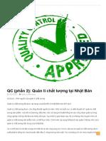 QC (Phần 2)_ Quản Lí Chất Lượng Tại Nhật Bản _ Vietfuji Techfocus