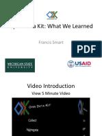 Open Data Kit Seminar En