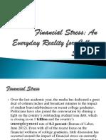 Financial Stress PPT