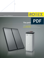 ROTEX Brochure Thermal Store Solar En