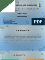 Clasificación, tipos, composición y propiedades de.pptx