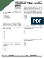 Fração, Razão e Proporção, Proporcionalidade e Regra de Três