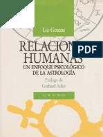 (Liz Greene) - Relaciones Humanas (Enfoque Psicologico de La Astrologia)