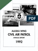 Alaska Wing - Annual Report (1992)