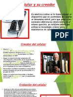 El celular y su creador
