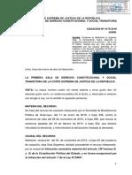 Casación 4175-2016 Junin - Protección de La Ley 24041 - Requisitos - Cas - Compilador José María Pacori Cari