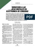 Introducción a Las Técnicas Digitales en Electrónica de Consumo (Video)