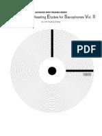 Advanced Sight Reading Etudes for Saxophone Advanced Sight Reading Etudes for Saxophone VOL II