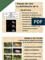 Distribución de La Diversidad Biologica