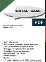 Neonatal Death-caseTIKEP Okt 2017